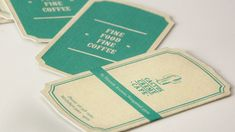 Nice branding by Cactus Creme Cafe. Like the vintage feel.