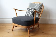Vintage Ercol Windsor easy chair by OwlAndTheElephant on Etsy