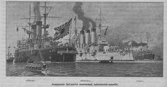 Kaksi laivastoa, 01.01.1904 Kyläkirjaston Kuvalehti no 1 - Aikakauslehdet - Digitoidut aineistot - Kansalliskirjasto