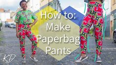 HOW TO: MAKE 'PAPERBAG' PANTS | REQUEST WEDNESDAY #2 - YouTube