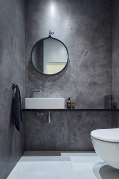 Modern Scandinavian Bathroom Interior In White - Interior Design Ideas & Home De. Modern Scandinavian Bathroom Interior In White – Interior Design Ideas & Home Decorating Inspirat White Interior Design, Bathroom Interior Design, Luxury Interior, Kitchen Interior, Bad Inspiration, Bathroom Inspiration, Modern Bathroom, Small Bathroom, Bathroom Ideas