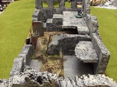 Battle Damaged Building, alternative view - Eris Artwork