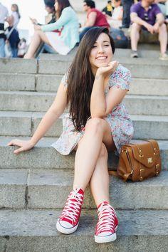 Look: a primavera e a escadaria do Met por Bruna Vieira | Depois dos Quinze em junho 10, 2014