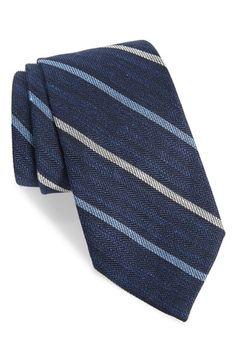 Gitman Stripe Silk Blend Tie