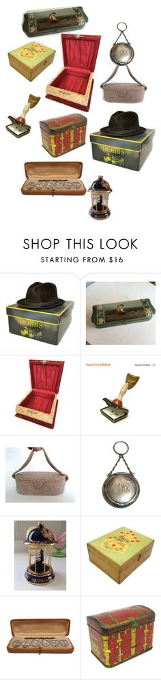 """""""Boxes to OPEN"""" by silverfoxantique on Polyvore featuring interior, interiors, interior design, home, home decor and interior decorating"""