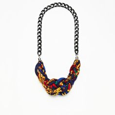 Maxine Necklace Fleur De Lis now featured on Fab.