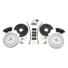 2010-15 Chevrolet Camaro V6 to ZL1 Brake Conversion Kit (front/rear) GM 22989384