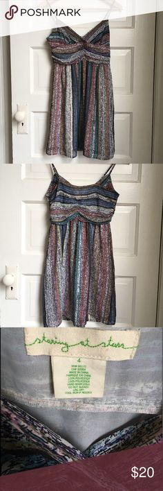 "Urban Outfitters dress Adorable for summer! Tag says 4, I think it fits like a 0- too small for me. 12"" from side to side at ribs below bust, about 24"" from underarm to Jen. Urban Outfitters Dresses"