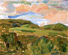 Helmer Osslund 1866-1938 Landscape