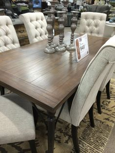 Tripton Table Ashley Furniture Thought Someone Would Appreciate This In Person View I Know Couldnt Wait To See It