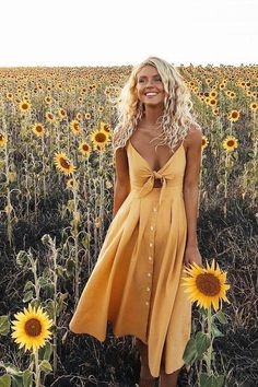 Yellow Dresses - Denim  Midi & Maxi Dresses #Yellowgown
