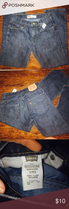 Levi's Boys Sz18 Regular EUC Jeans! #121 -Great condition. Barley worn without signs of wear or stains!! Levi's Bottoms Jeans