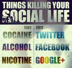 Ting drab dit virkelige sociale liv