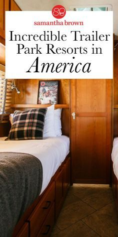 I love the idea of camping. But at the end of the day, I crave the comforts of home. Here the best trailer park accommodations changing the face of camping (or should I say glamping?).