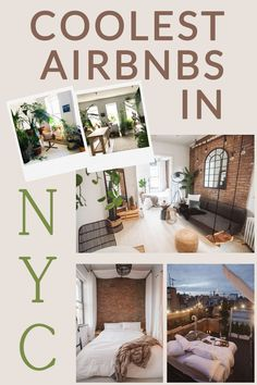 The Coolest Airbnbs in New York City Usa Travel, Travel Tips, The Places Youll Go, Places To Go, Brooklyn Brownstone, Nyc Life, Us Destinations, Family Weekend, New York City Travel