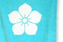 Mitsuhide Akechi Battle Flag Design Gym Towel
