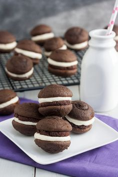 Tracey's Culinary Adventures: Mochaccino Whoopie Pies