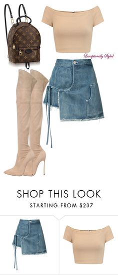 """Untitled #670"" by lexceptional on Polyvore featuring Sandy Liang, Alice + Olivia and Casadei"
