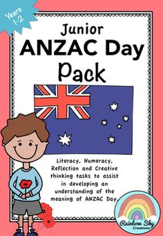 ANZAC Day Pack is a set of learning activities that can be used as a sequenced series of lessons or as individual tasks. Most importantly, it has been created to teach students about the importance of ANZAC Day in our country for Years 1 - 2. ~ Rainbow Sky Creations ~