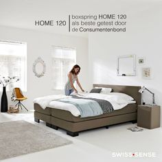 Consumentenbond beste koop 2014: Swiss Sense Boxspring Home 120 | SwissSense.nl