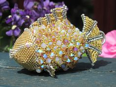 Sea Lilly by Beadwork by Sian, via Flickr