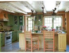 Decoración de cocinas estilo campo