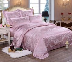 mulberry silk bedding silk girls bedding     https://www.snowbedding.com/