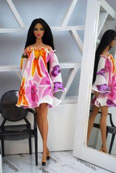 HABILISDOLLS summer fashion for Fashion Royalty FR2, Barbie and similar dolls