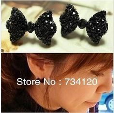 ES017 New style Western Fashion Simple Black Butterfly Bow Earrings Wholesale Jewelry Free shipping♦️ SMS - F A S H I O N 💢👉🏿 http://www.sms.hr/products/es017-new-style-western-fashion-simple-black-butterfly-bow-earrings-wholesale-jewelry-free-shipping/ US $0.21