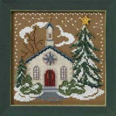 Cardinal Forest Cross Stitch Kit Mill Hill 2010 Buttons /& Beads Winter