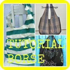 donneinpink: Tutorial e cartamodelli borse. Borse medio grandi....