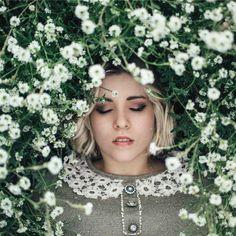 Artistic Self-Portrait Photography by Zuzanna Borucka #inspiration #photography