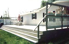 diy decks and porch for mobile homes | Voice: 610.277.3900 Fax: 610.277.3970 E-mail: info@plasticlumberyard ...