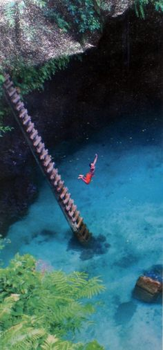 Ocean Trench in Samoa - I SOOO want to jump this before I die!