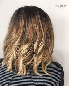 Melted roots and caramel balayage :: RedBloom Salon Caramel Balayage, Hair Painting, Pretty Hair, Balayage Hair, Roots, Salons, Hair Color, Stylists, Hairstyles