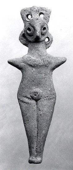 Nude female figure Period: Middle Bronze Age Date: ca. early 2nd millennium B.C. Geography: Levant Medium: Ceramic