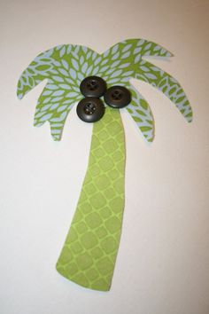 Palm Tree...Applique Template Pattern ONLY ----Make your own applique----