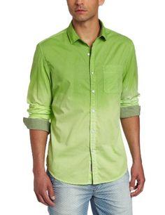 $69.50Calvin Klein Jeans Men's Dip Dye Gradiant Long Sleeve Woven, Fresh Green, Large Calvin Klein Jeans,  MEN'S FASHION to buy just click on amazon here http://www.amazon.com/gp/product/B00BT9KFSS?ie=UTF8=213733= 393177=B00BT9KFSS=shr=abacusonlines-20&=apparel=1376174916=1-1=calvin+klein+men