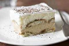 Tiramisu Cheescake-----This uses vanilla wafers in place of the hard-to-find ladyfingers! :)