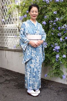 Okamisan , my Kimomo teacher wears beautiful Kimono everyday.