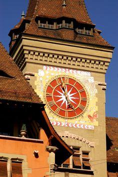 Geneva - Clock Tower, Victor Driggs Geneva, SWITZERLAND