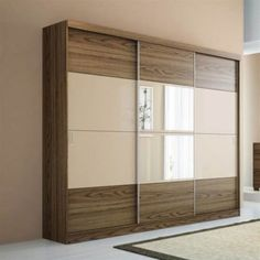 Ideas for bedroom wardrobe design storage Bedroom Cupboard Designs, Wardrobe Design Bedroom, Bedroom Bed Design, Bedroom Furniture Design, Closet Bedroom, Wooden Furniture, Wardrobe Laminate Design, Bedroom Ideas, Bedroom Cupboards