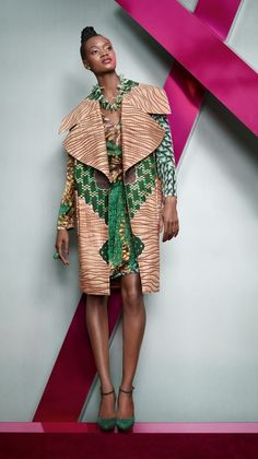 ♡Vlisco V-Inspired ~African fashion, Ankara, kitenge, African women dresses, African prints, Braids, Nigerian wedding, Ghanaian fashion, African wedding ~DKK