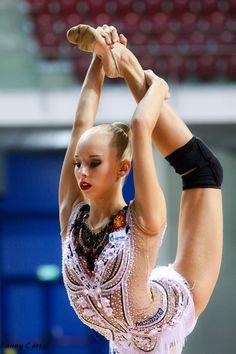 Yana Kudryavtseva (Russia), backstage World Cup (Sofia) 2015