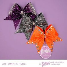 Bows of London - beautiful autumn bow collection!! #bowsoflondon #BOLgirls