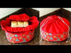 PORTA PÃO - YouTube Sewing Tutorials, Sewing Crafts, Bread Storage, Sewing Machine Projects, Backpack Pattern, Diy Purse, Diy Gifts, Diy And Crafts, Basket