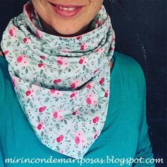 my corner of butterflies: A neck with snaps (tuto) Neck Warmer, Diy Clothes, Alexander Mcqueen Scarf, Free Pattern, Couture, Sewing, Butterflies, Mario, Woman