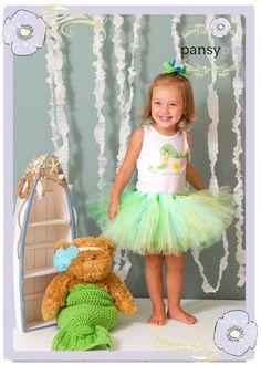 Little Mermaid Tutu Dress Baby Tutu Outfits Toddler Mermaid Costume 9 12 18 24 Months