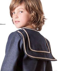 Niño marinero de La Pequeña Costura Star Fashion, Boy Fashion, Kids Boys, Cute Boys, Cute Kids Fashion, Sissy Boy, First Communion, Child Models, Beautiful Boys