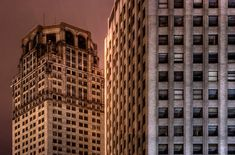 Abandoned Detroit   Detroit: Abandoned Skyscrapers - Photography: Zach Fein